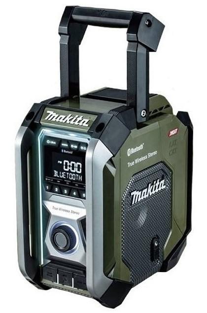 マキタ 充電式ラジオ MR005GZO オリーブ 本体のみ...