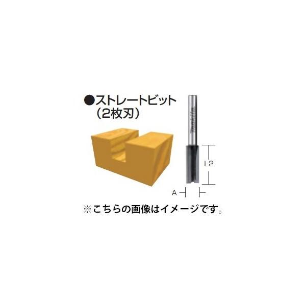 ネコポス可 マキタ ストレートビット 2枚刃 D-081...