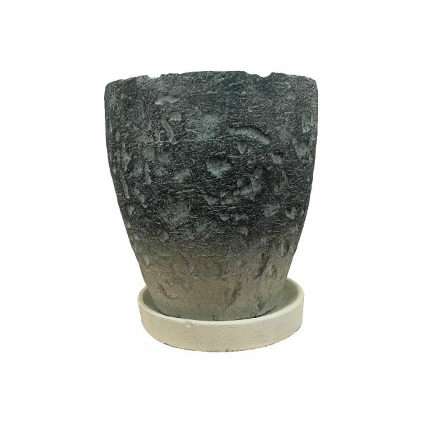 植木鉢 セメントポット CC311-150 5号(15cm) 受け...