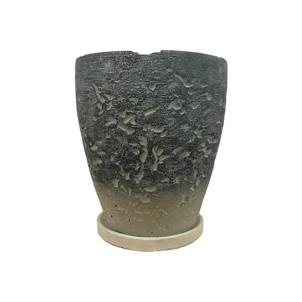 植木鉢 セメントポット CC311-255 8.5号(25.5cm) ...