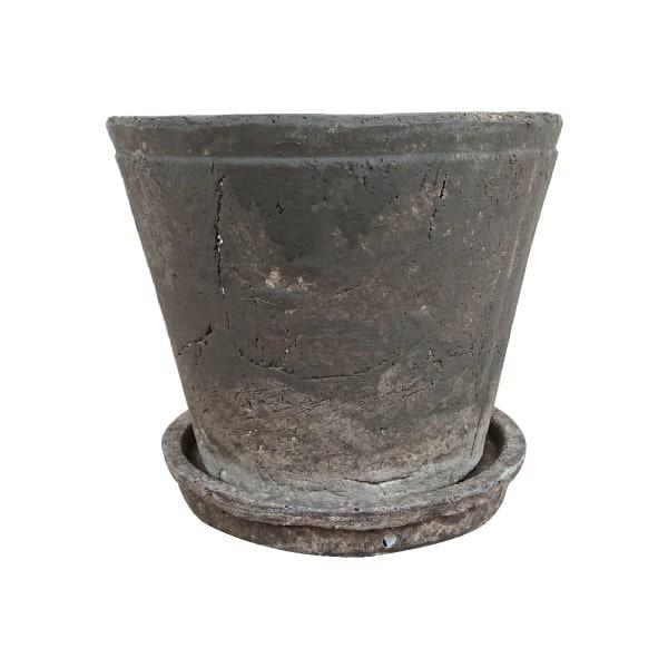 植木鉢 ブラウンシャビーポット UN417-160 5号(16...