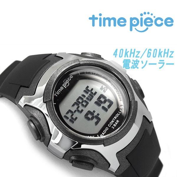 【time piece】タイムピース ソーラー 電波 メン...