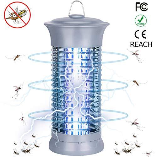 Ephram 電撃殺虫器 蚊取り器 UV光源吸引式 殺虫灯 誘虫灯 蚊よけ 薬剤不用 無毒 静音 臭いや煙なし 赤ちゃんやペットにも安心 蚊 コバエ