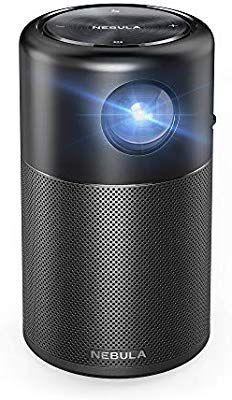 超小型 レーザープロジェクター 星雲カプセル ミニ Wi-Fi付きポータブル ハイコントラストポケットシネマ 360度スピーカー android7.1 4
