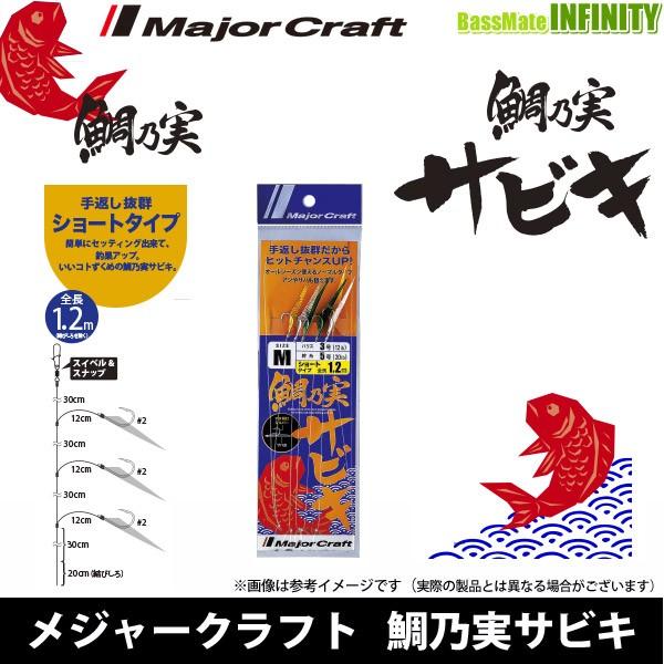 ●メジャークラフト 鯛乃実 タイノミ サビキ TM-...