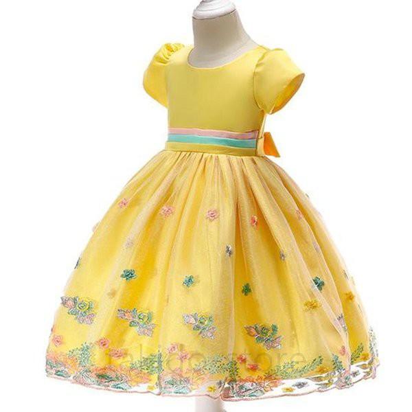 子供 ドレス 女の子 フォーマル ドレス パーティ...