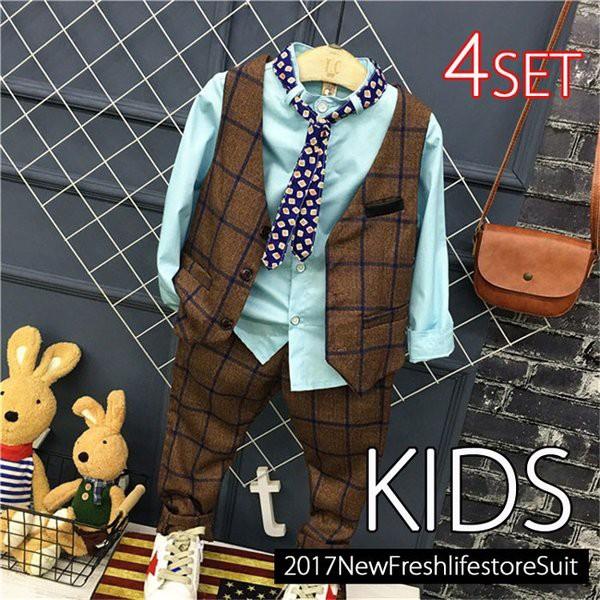 男の子スーツ ベスト 男の子 フォーマル 子供服 ...