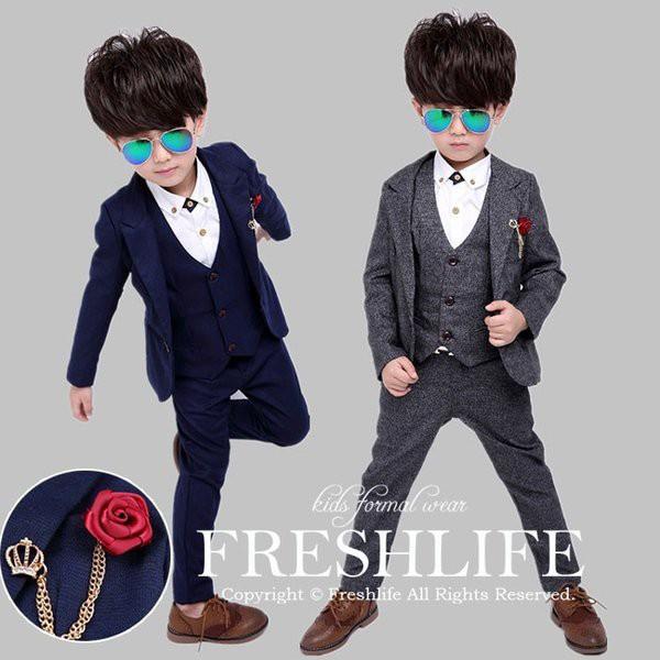 子供服 フォーマル 男の子 スーツ 卒業式 スーツ ...