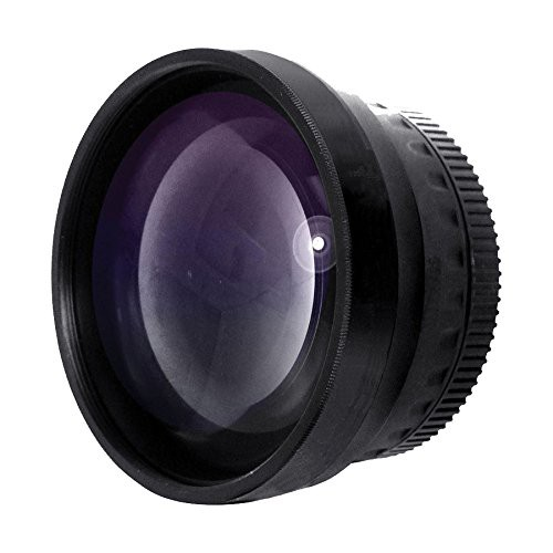 2.0x 高解像度望遠変換レンズ (58mm) Sony DCR-VX...