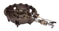 鋳物ガスコンロ一重大(中型)種火付 TS-540P  LP...