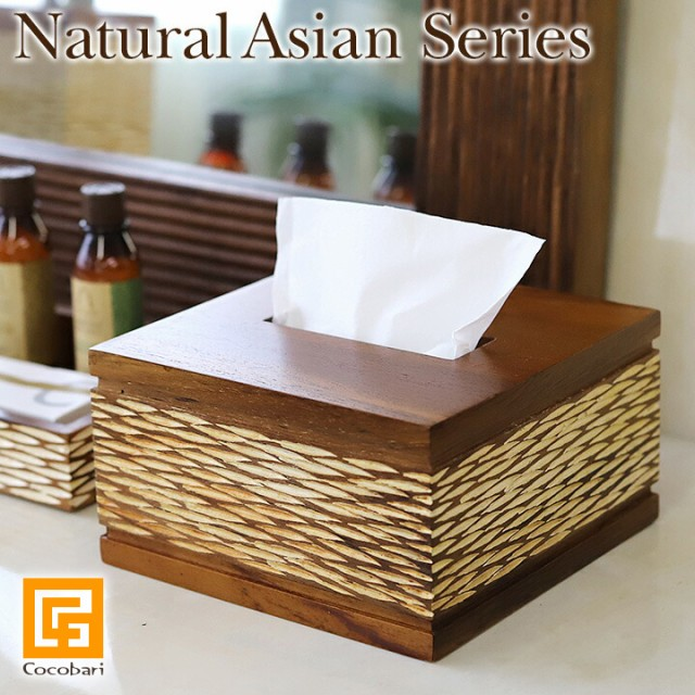 Natural Asian Series Half size Tissue case (ハ...