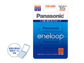 Panasonic/パナソニック BK3MCC/4C エネループ 単...