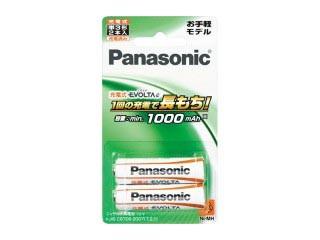 Panasonic/パナソニック EVOLTA BK-3LLB/2B 充電...