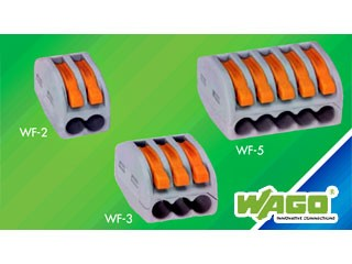 WAGO/ワゴ WF-2 WFシリーズ ワンタッチコネクター...