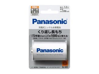 Panasonic/パナソニック BK-1MGC1 ニッケル水素電...