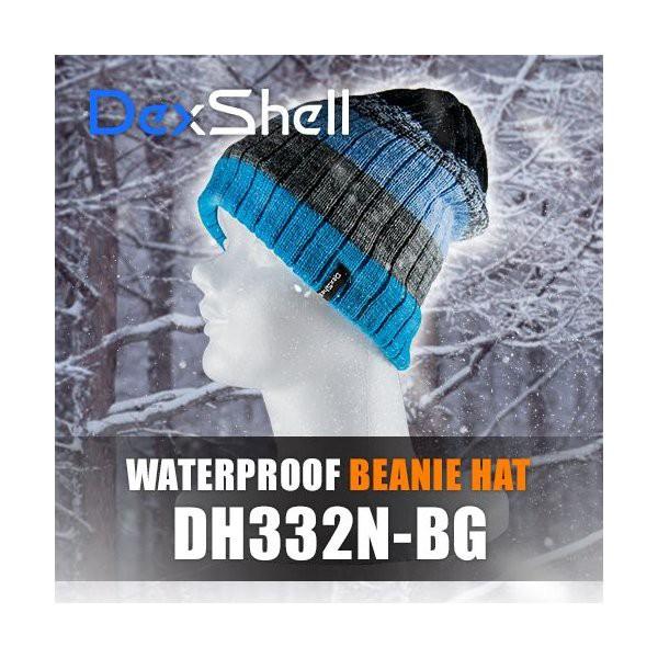 防水通気防寒ビーニー帽(Dex Shell)DH332N-BG