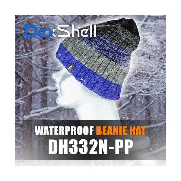 防水通気防寒ビーニー帽(Dex Shell)DH332N-PP