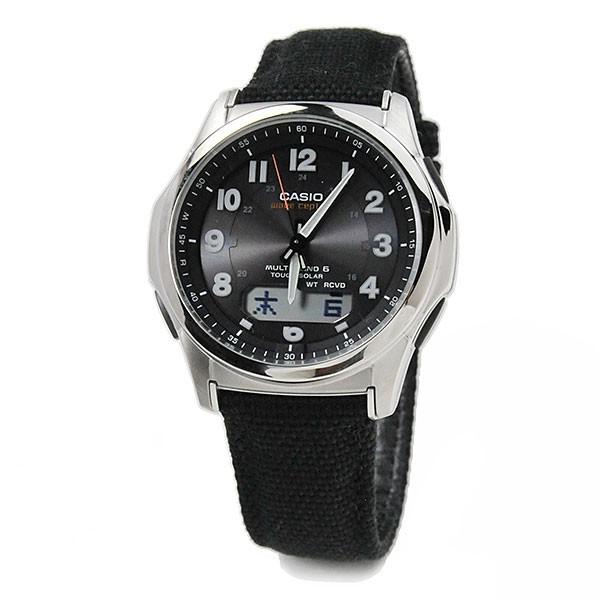 CASIO カシオ 電波ソーラー 腕時計 メンズ ウェー...