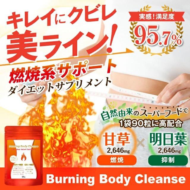 ダイエット サプリ Burning Body Cleanse 90粒/30...