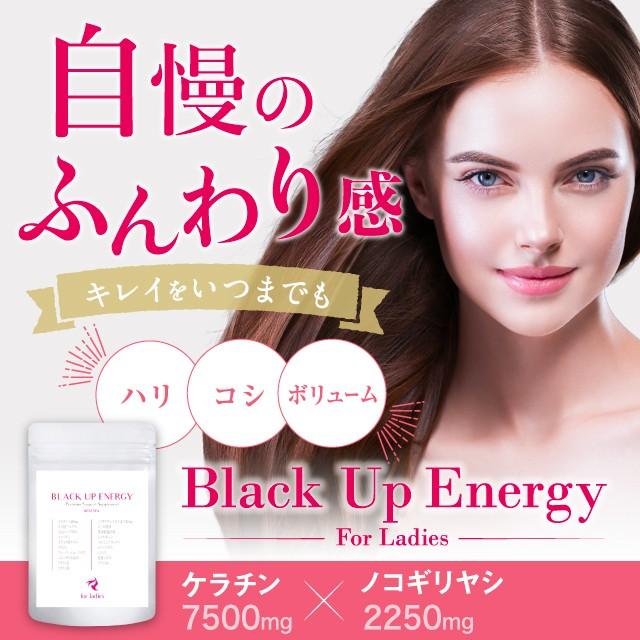 Black Up Energy For Ladies ノコギリヤシ2250mg ...