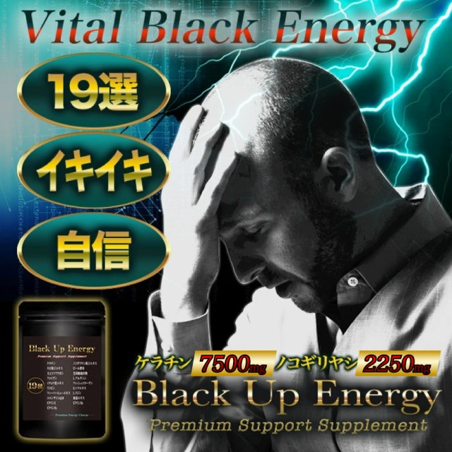 髪 サプリ Black Up Energy 90粒 髪サプリ サプリ...