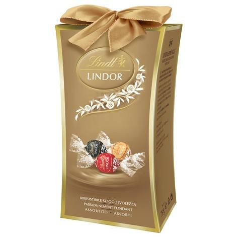 お中元 ギフト 【公式】リンツ チョコレート(Lindt) リンドール ピラー アソート75g