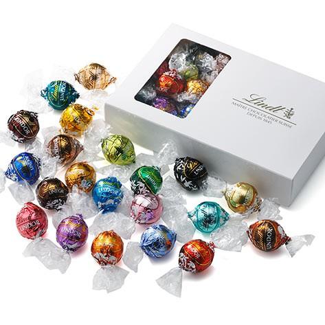 送料無料 【公式】リンツ チョコレート(Lindt)リンドール テイスティングセット 18種23個入り k_sweets             ギフト スイーツ