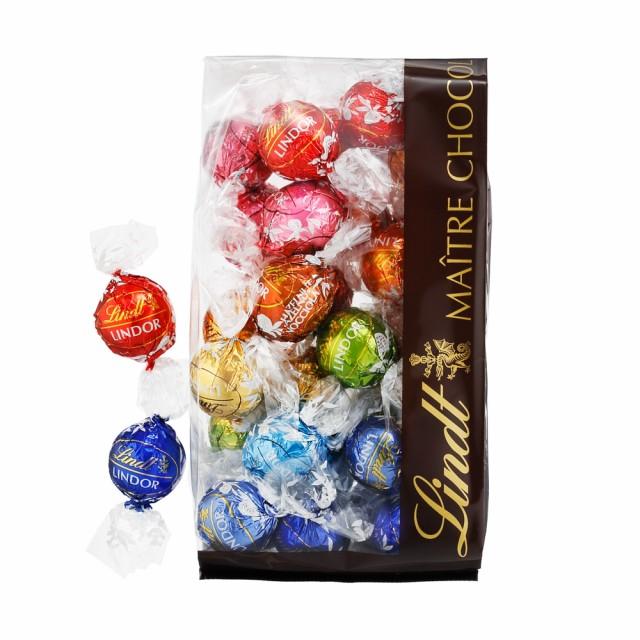 送料無料 【公式】リンツ チョコレート(Lindt)リンドール10種類アソート 人気の定番フレーバー [Aタイプ] 30個入り             ギ