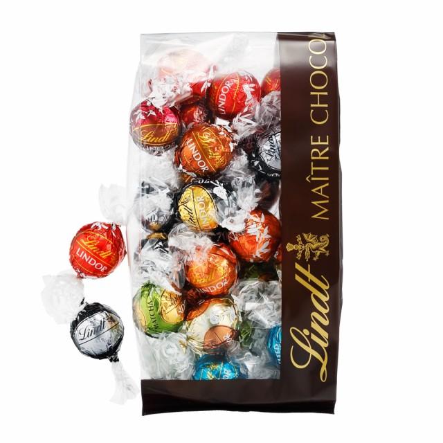 送料無料 【公式】リンツ チョコレート(Lindt)リンドール10種類アソート 大人リッチフレーバー [Bタイプ]30個入り             ギフ