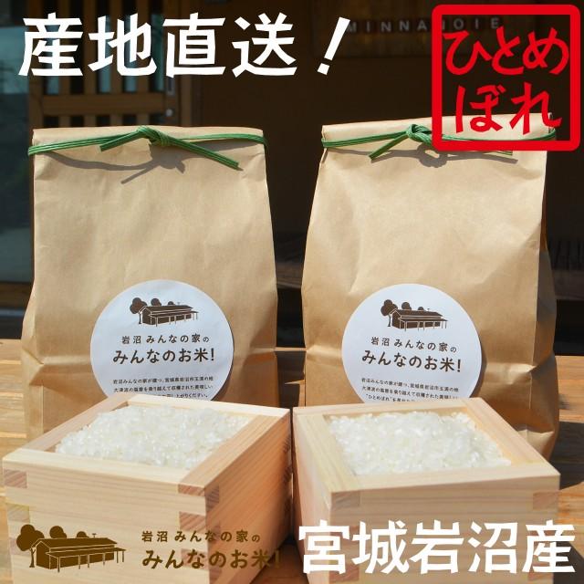 【精米1kg+精米1kg】【令和元年産・産地直送】岩...