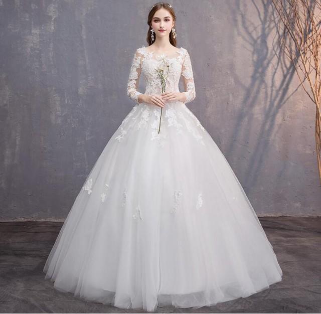 韓国 激安 ウエディングドレス 結婚式 レディース...