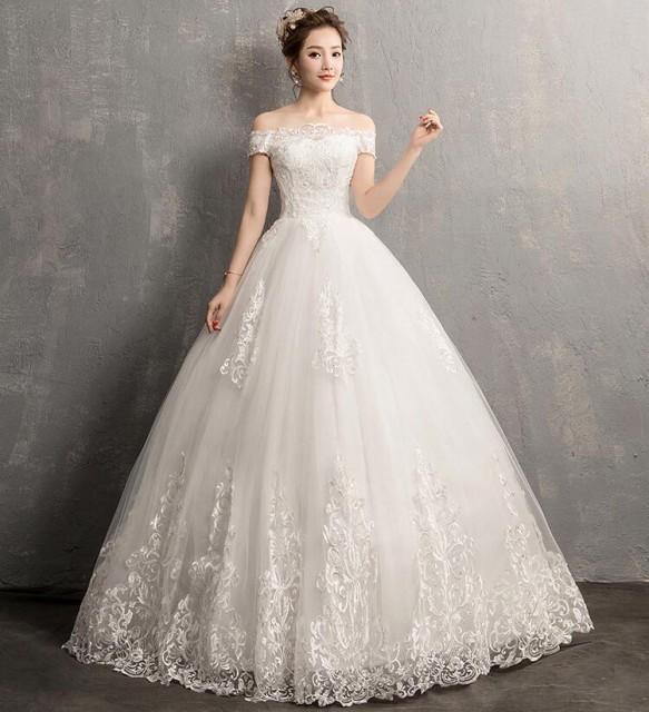 韓国 高品質 花嫁ウエディングドレス 結婚式 二次...