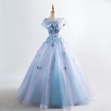 ウェディングドレス オフショルダー カラードレス...