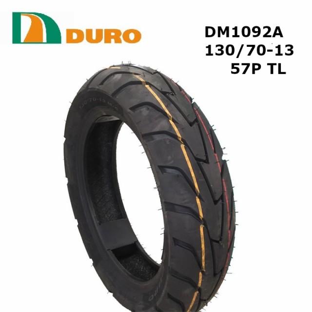 スクータータイヤ 130/70-13 DURO   DM1092A  57P...