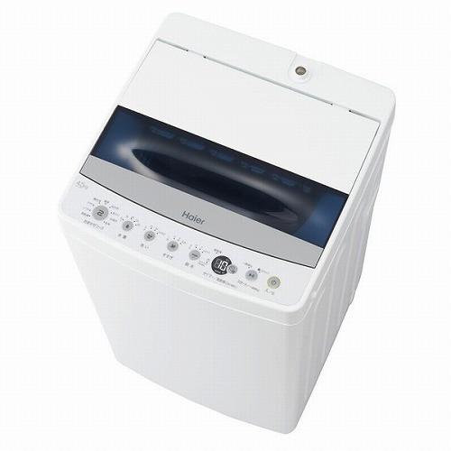 ハイアール 4.5kg 全自動洗濯機 ホワイト Haier J...