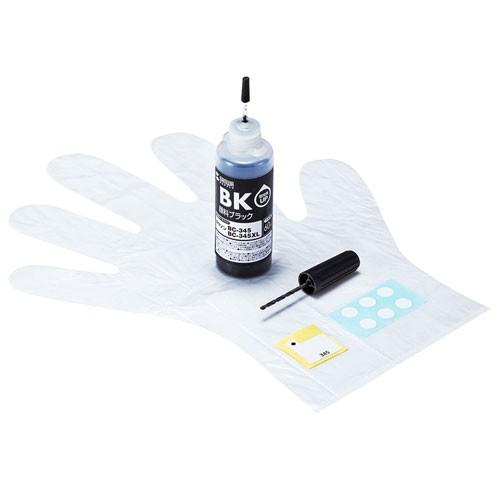 サンワサプライ 詰替えインクBC-345用 INK-C345B6...