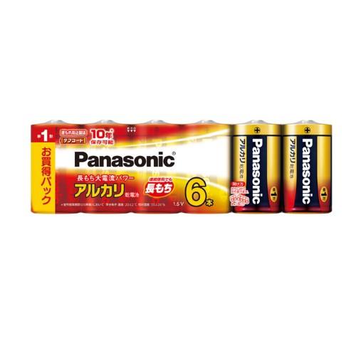 パナソニック Panasonic 乾電池 単1形アルカリ乾...