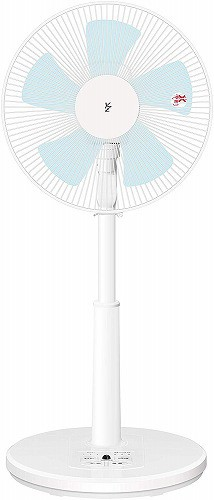 山善 扇風機 30cm リビング扇 マイコンスイッチ ...