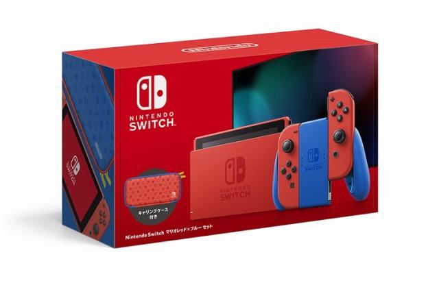 Nintendo Switch マリオレッド×ブルー セット 任...