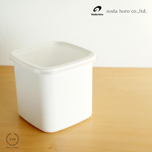 野田琺瑯 スクウェア L 【日本製 ホワイトシリー...