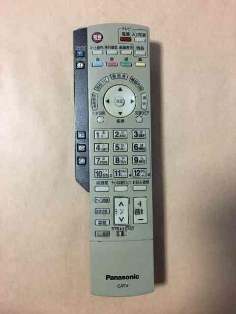 (中古)パナソニック CATV リモコン EUR7630ZCO 保...