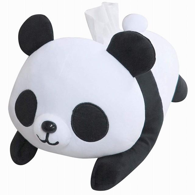 可愛い♪パンダのティッシュケースカバー