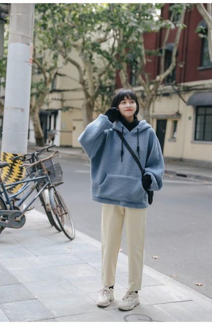 2019年新作 学生に大人気のフード付きセーター ...