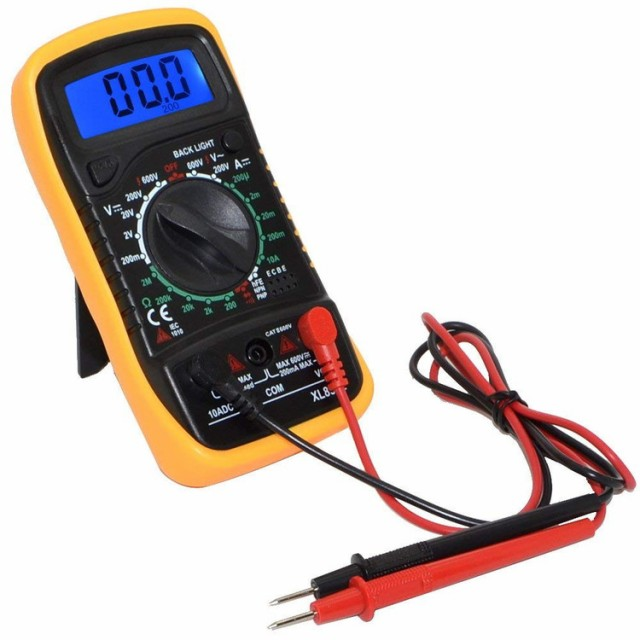 デジタルマルチメーター 電流・電圧(直流/交流)・...