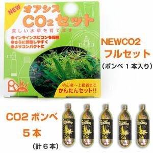 リキジャパン NEWオアシスCO2セット+NEWCO2ボ...