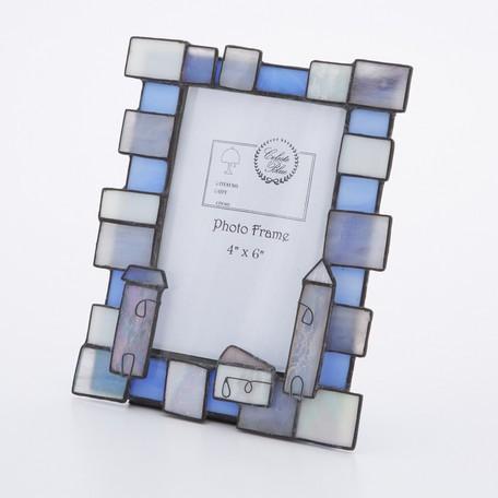 フォトフレーム 4×6 ステンドグラス