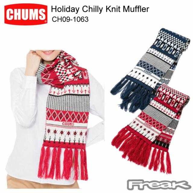 CHUMS チャムス マフラー CH09-1063<Holiday Chi...