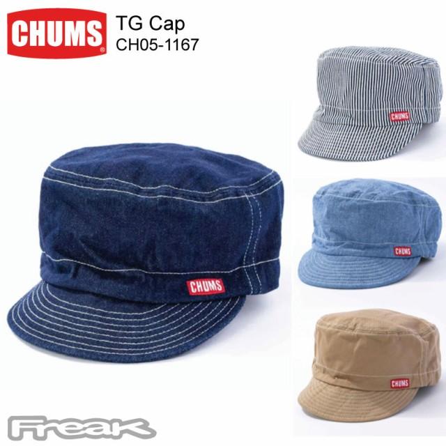 CHUMS チャムス キャップ CH05-1167<TG Cap TGキ...