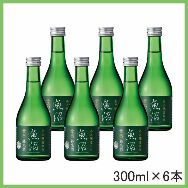 白瀧酒造 辛口魚沼 純米 300ml 6本入 日本酒 辛口...