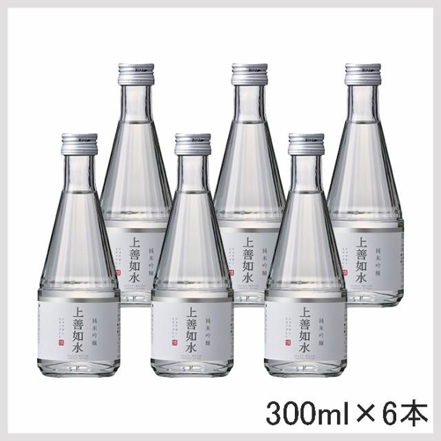 白瀧酒造 上善如水 純米吟醸 300ml 6本入 日本酒 ...